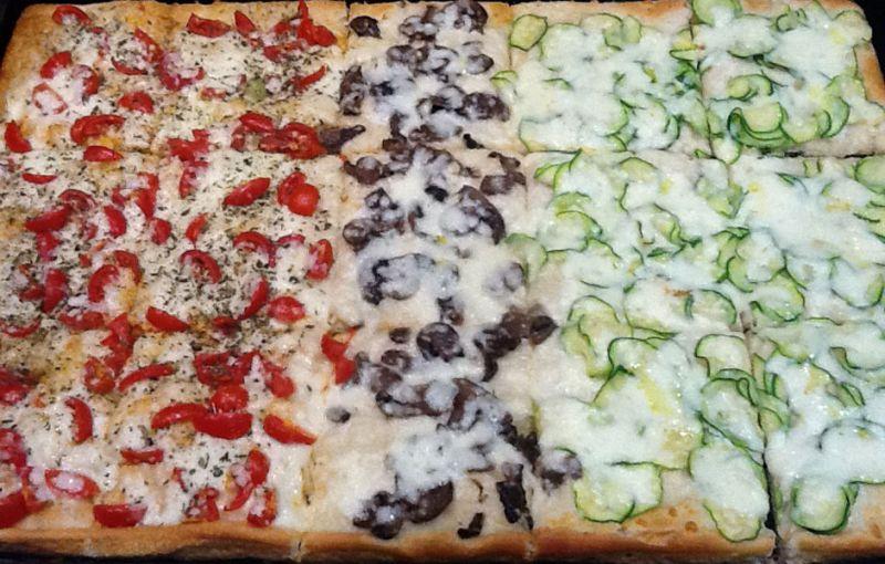 PIZZA AL TAGLIO,PIZZA DA ASPORTO