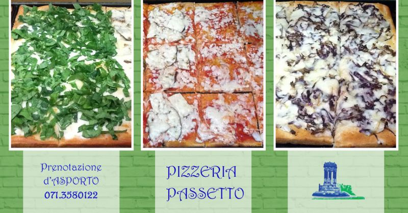 PIZZERIA PASSETTO - Pizza al taglio da asporto Ancona Passetto
