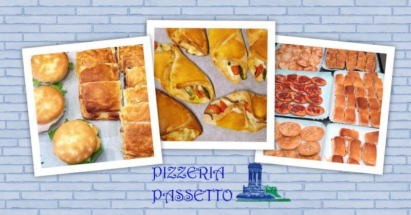 PIZZERIA PASSETTO - Offerta Pizza Al Taglio Panini per Rinfreschi Ancona Passetto