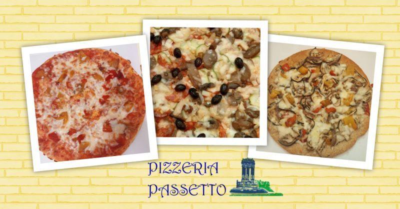 PIZZERIA PASSETTO - Offerta Pizza d'asporto al piatto Ancora Passetto