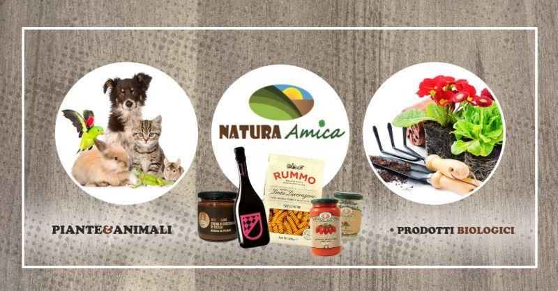 NATURA AMICA offerta prodotti naturali piante animali - occasione prodotti biologici italiani