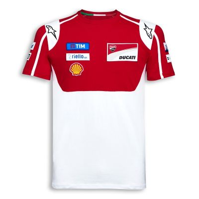 t shirt ducati gp team replica
