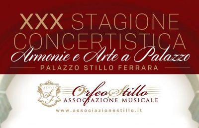 xxx stagione concertistica armonie e arte a palazzo paola cosenza