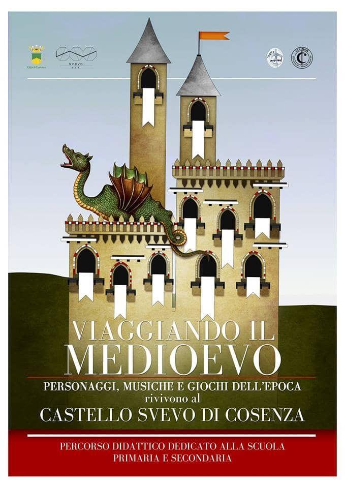 evento viaggiando il medioevo cosenza - percorso didattico teatrale sul medioevo cosenza