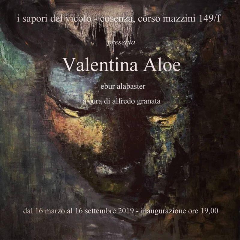 Mostra Valentina Aloe cosenza - mostra personale Ebur Alabaster cosenza