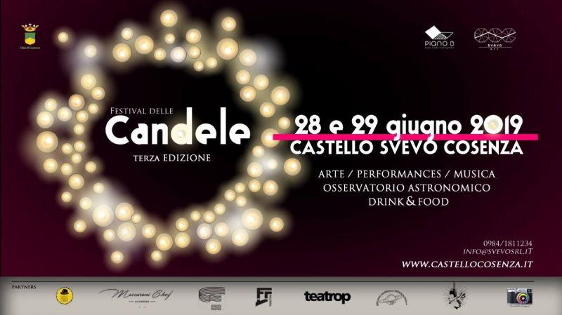 festival delle candele cosenza - festival delle candele castello svevo di cosenza