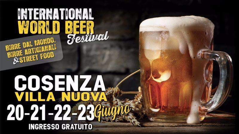 INTERNATIONAL WORLD BEER FESTIVAL COSENZA - festival internazionale della birra cosenza