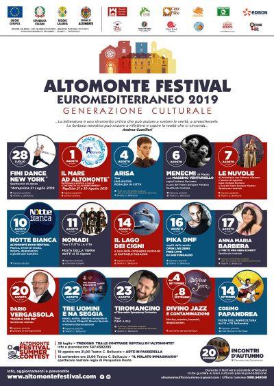 festival euromediterraneo altomonte festival euro mediterraneo cosenza