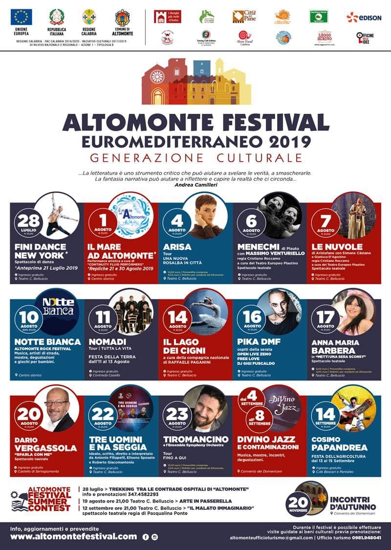Festival euromediterraneo altomonte - festival euro mediterraneo cosenza