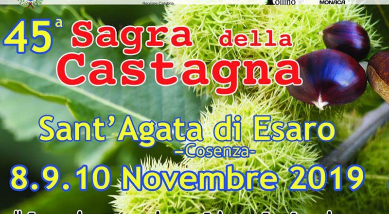 Sagra della castagna Sant'Agata di Esaro –  Evento piatti tipici locali Sant'Agata di Esaro Cosenza