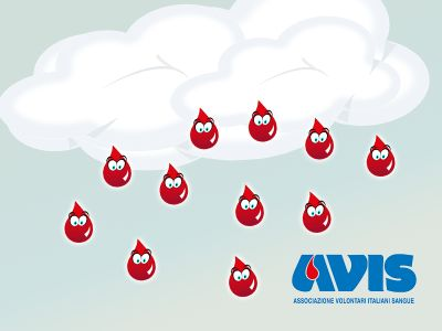 non aspettare che cadano dal cielo diventa donatore di sangue avis provinciale di terni
