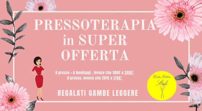 Occasione trattamenti di pressoterapia in offerta a Treviso – offerta trattamenti per gambe massaggio più bendaggio in offerta a Treviso