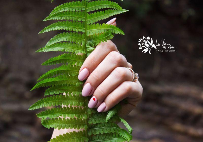 LA VIE EN ROSE offerta smalto unghie in gel caucciu - promo ricostruzione unghie in gel semiper