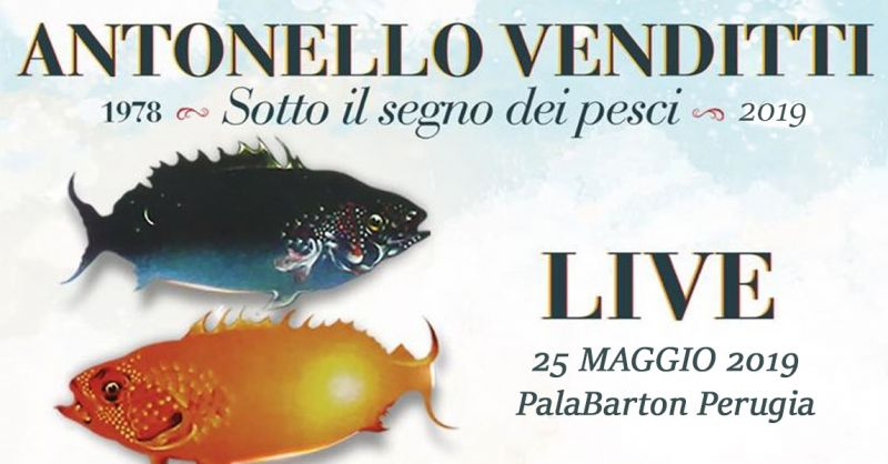 offerta vendita biglietti concerto Venditti Perugia - occasione biglietti Venditti Live Perugia