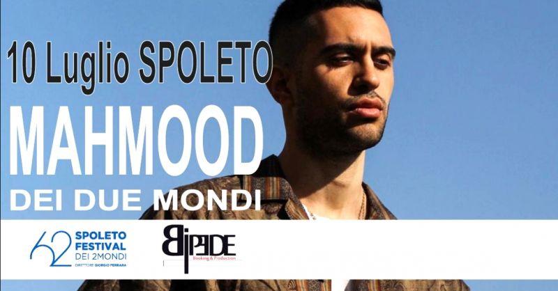 offerta biglietti concerto Mahmood Spoleto Perugia - occasione Festival dei due mondi Spoleto