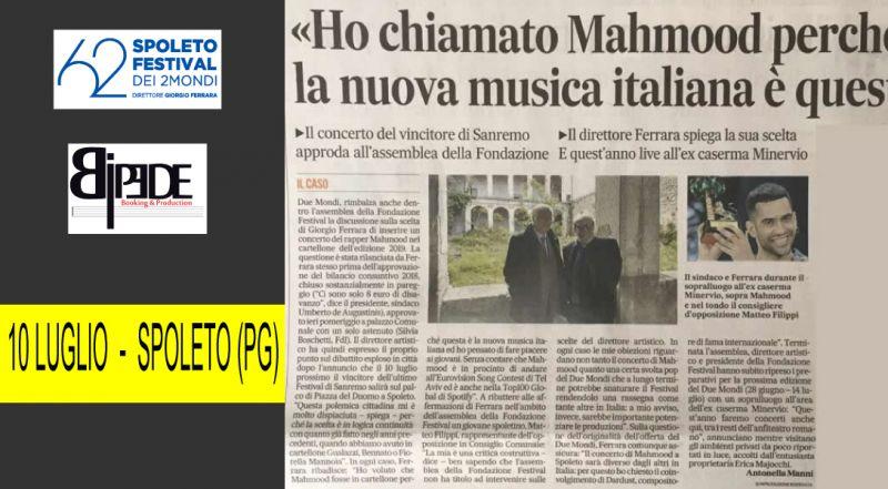 OFFERTA MUSICA - FESTIVAL DUE MONDI - SPETTACOLO OCCASIONE