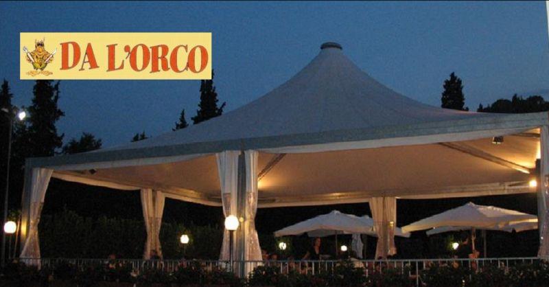 offerta ristorante e pizzeria con terrazza all'aperto Poggibonsi -  PIZZERIA DA L'ORCO