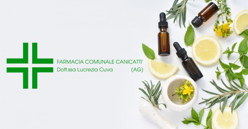 Offerta Farmacia Comunale Canicattì - Occasione Dermocosmesi Omeopatia Canicattì