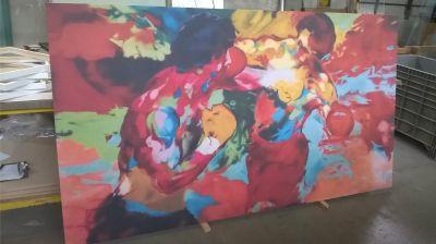 f c p offerta opera su tela grandi dimensione promozione tela coloratissima per arredamento