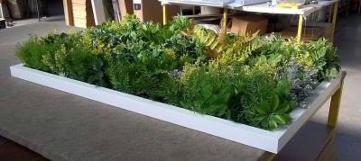 f c p offerta giardino pensile con cornice bianca promo giardino stabilizzato con cornice