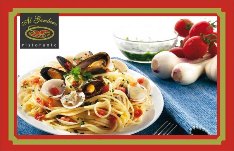 menu del mezzo marinaio ristorante al gambero