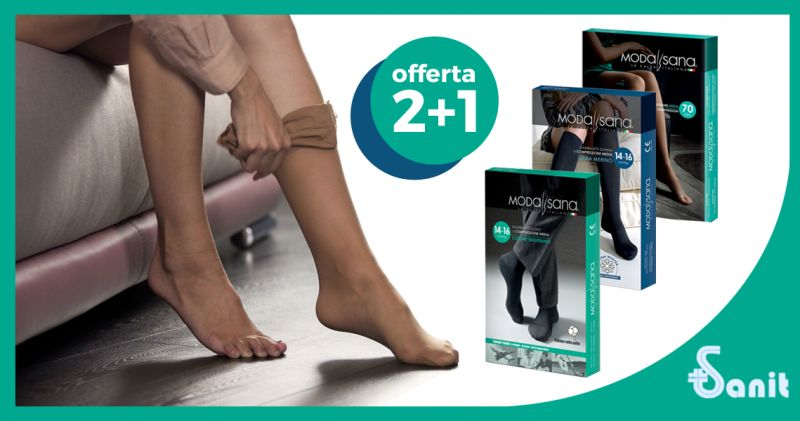 Offerta Calze Preventive Uomo Donna Torino - Occasione Gambaletti Compressivi Uomo Donna Torino