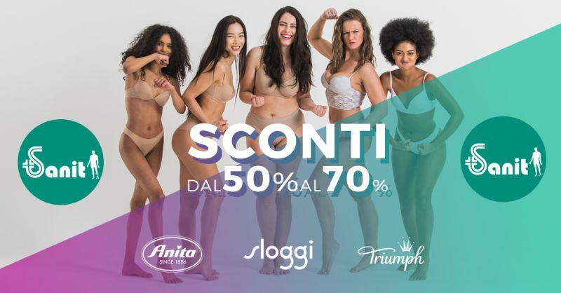 Offerta Abbigliamento Intimo Femminile Contenitivo - Occasione Reggiseno Anita Sloggy Triumph Torino