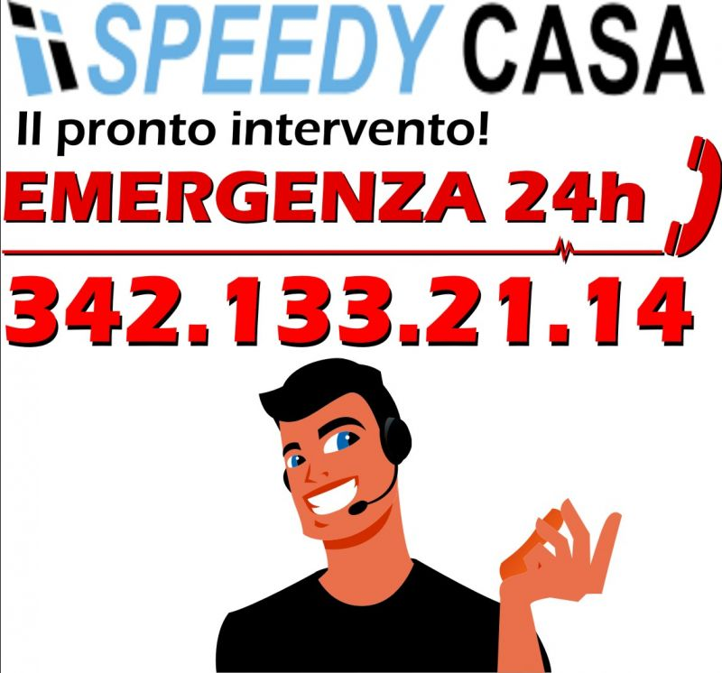 SPEEDYCASA offerta pronto intervento idraulico Trieste