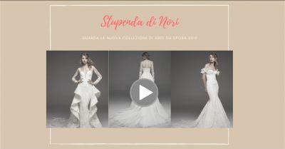 stupenda di nori porto torres nuova collezione di abiti da sposa e cerimonia 2019