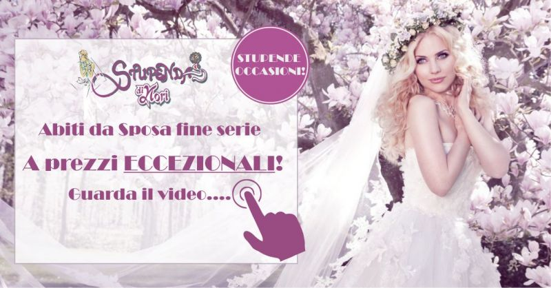 Stupenda di Nori Porto Torres - promozione abiti da sposa fine serie