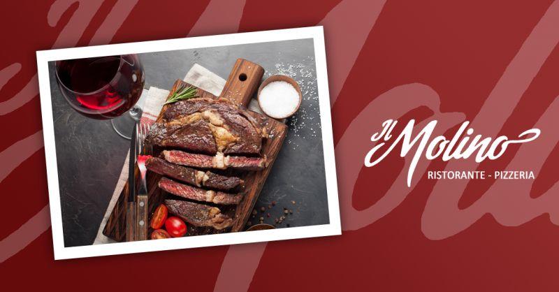 IL MOLINO offerta ristorante bistecca angus viterbo - occasione specialita carne viterbo