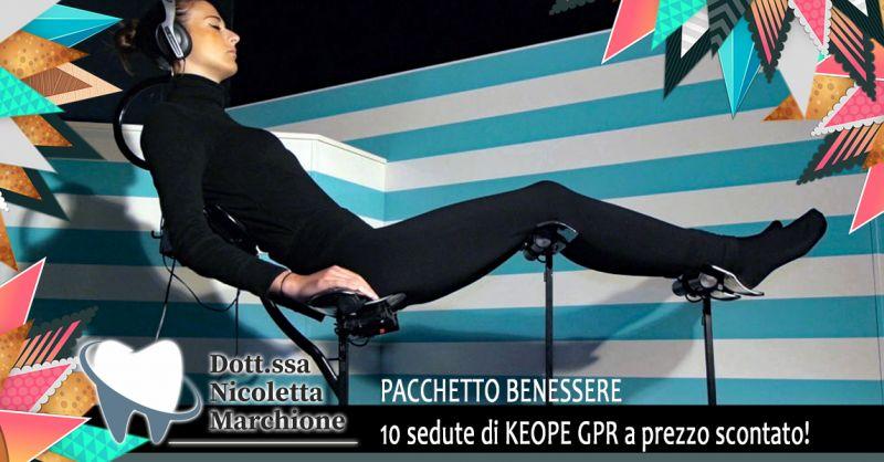 Offerta sedute di KEOPE GPR Verona - Occasione Trattamento Benessere keope in Sconto Verona