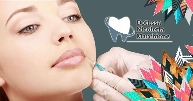 Promozione Trattamento Filler labbra lunga durata Peschiera - Offerta Sconto seduta Filler labbra