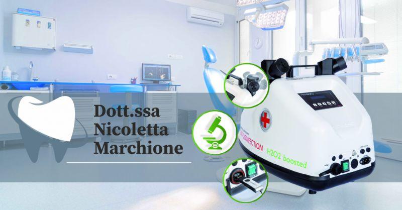 Offerta Medibios Dental per la disinfezione dello studio Odontoiatrico Verona