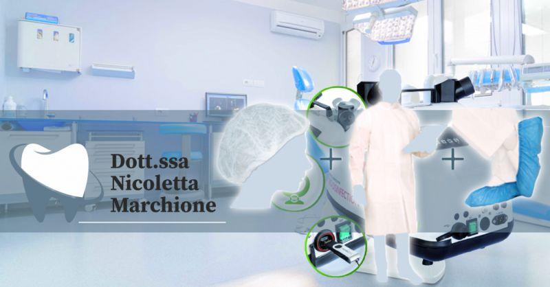 Offerta Centro Dentistico Protezione salute dei pazienti Verona - Occasione Dentista protocollo salute Paziente
