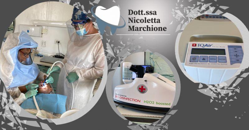 Offerta Sistema di sanificazione Hygienio Centro dentistico Dott.ssa Nicoletta Marchione Vicenza