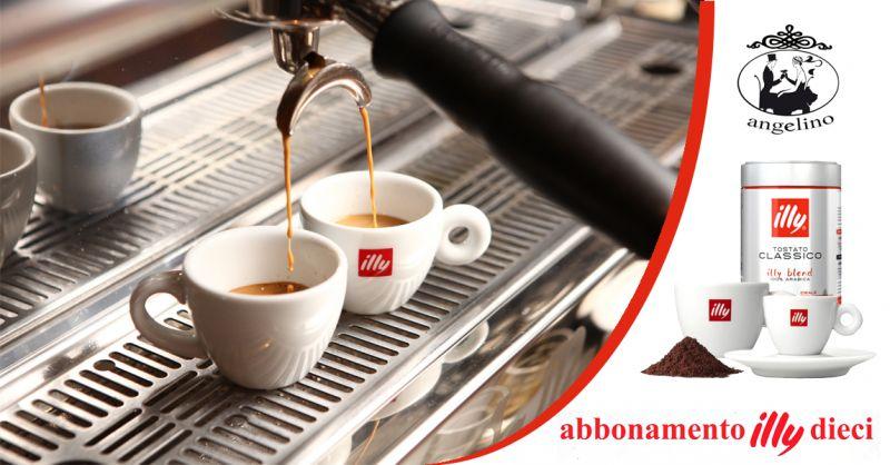offerta caffe illy con tazzina omaggio trapani - occasione abbonamento illy 10 trapani