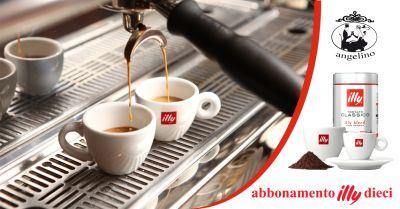 offerta caffe illy con tazzina omaggio trapani occasione abbonamento illy 10 trapani