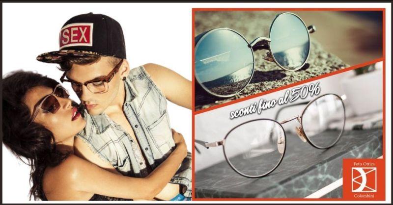 OTTICA COLOMBINI - promozione occhiali da vista o da sole in vendita a metà prezzo a Siena