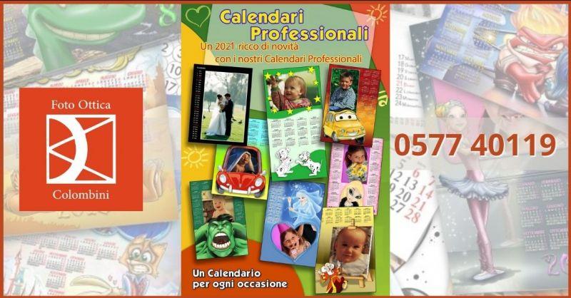 promozione calendario personalizzato 2021 - offerta stampa foto personalizzate Siena