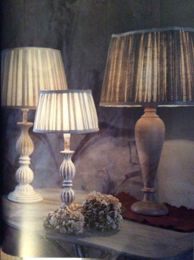 lampade da tavolo da tavolino e da comodino in stile shabby