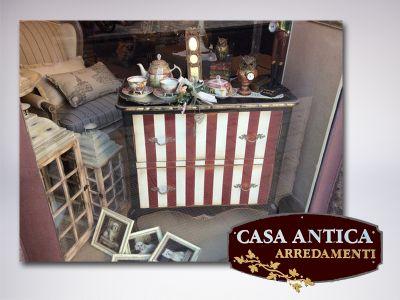 offerta comoncino due cassetti promozione como stile coloniale francese casa antica arredamenti