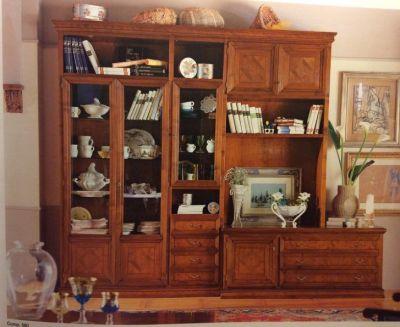 offerta parete legno promozione parete attrezzata casa antica arredamenti