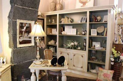libreria legno tulipier promozione libreria avorio casa antica arredamenti