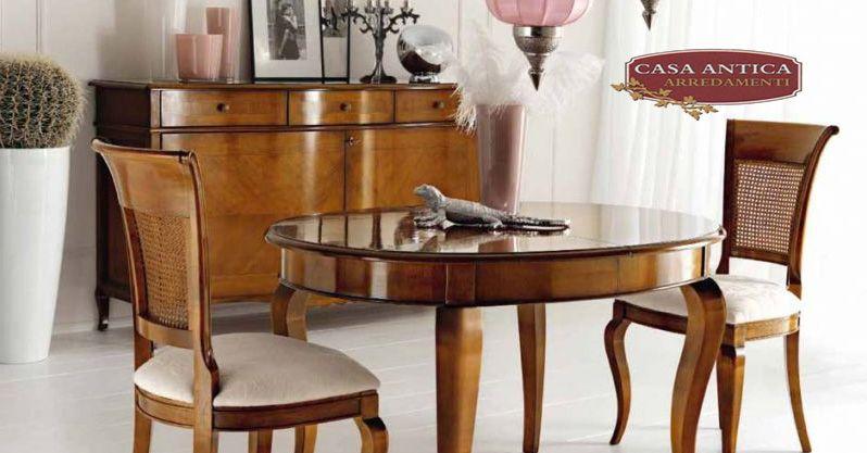 Casa Antica Arredamenti offerta credenza due ante  - occasione tavolo ovale allungabile Catania