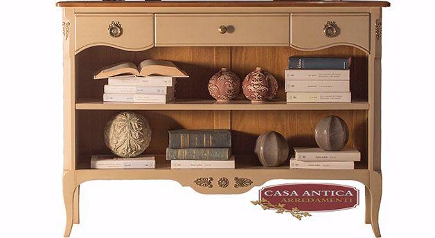 Casa Antica Arredamenti offerta libreria con cassetti - occasione arredamento casa Catania