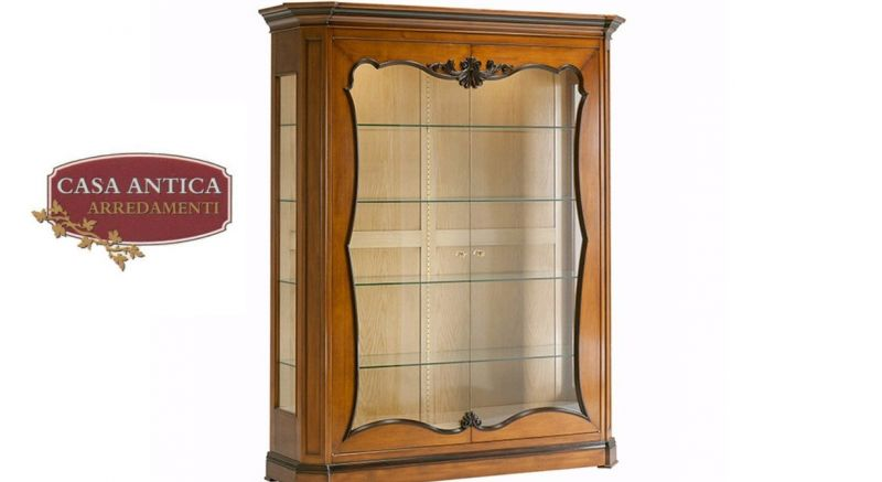 Casa antica Arredamenti offerta vetrina a due ante - occasione arredamento legno Catania