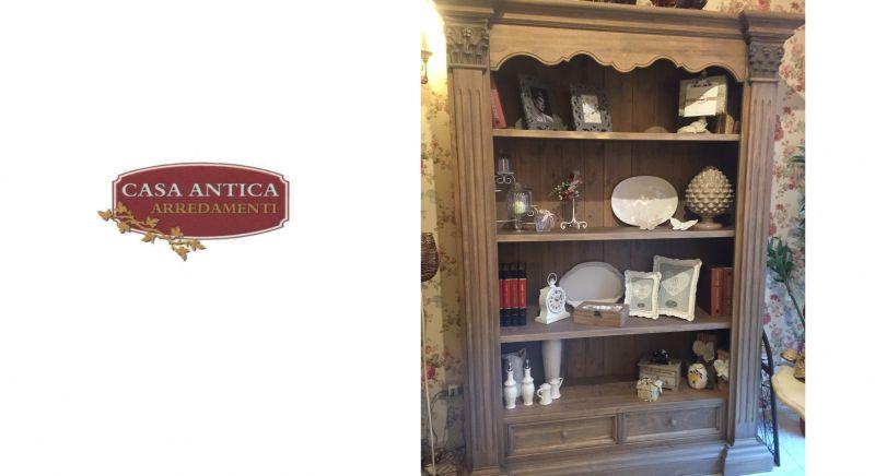 Casa Antica Arredamenti offerta libreria in legno - occasione arredamento vintage Catania