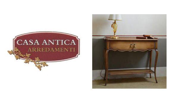 Casa Antica Arredamenti offerta consolle ingresso legno - occasione mobile ottocento Catania