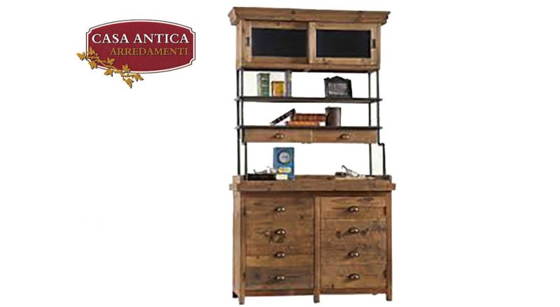 offerta credenza in legno stile industriale - occasione arredamento stile industriale  Catania
